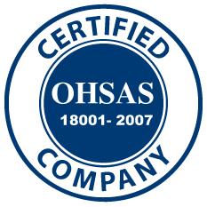 OHSAS -18001- 2007 GC-3 Certificate